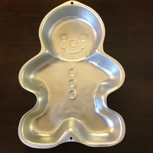 Wilton Gingerbread Kid Cake Pan #2105-2084 VGC